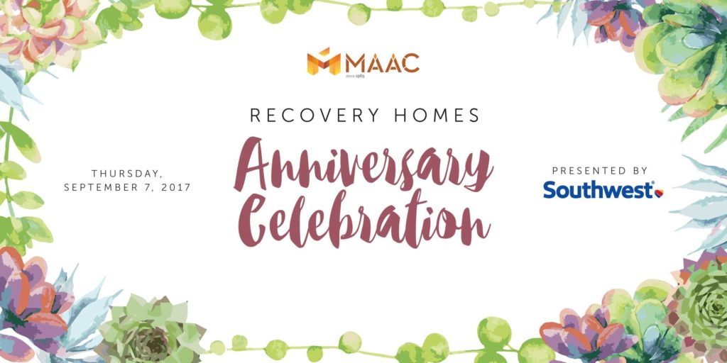 MAAC Recovery Homes Anniversary Celebration